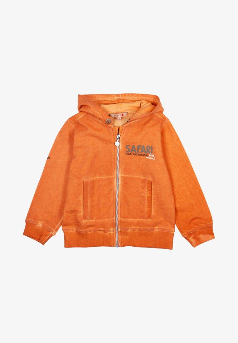 Boboli - PLÜSCH  - veste en sweat zippée - orange