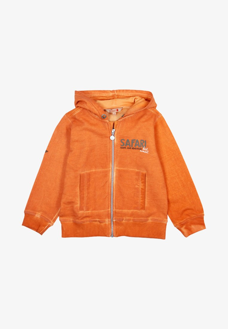 Boboli - PLÜSCH  - Sweatjacke - orange