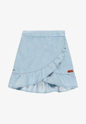 Wrap skirt - blue