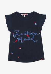 Boboli - Print T-shirt - navy - 0