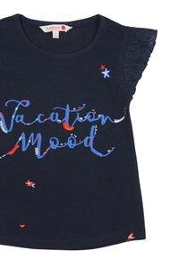 Boboli - Print T-shirt - navy - 2