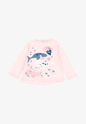 Langærmede T-shirts - light pink