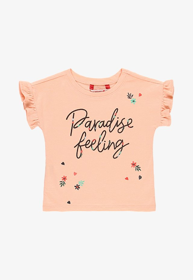 T-shirt print - peach