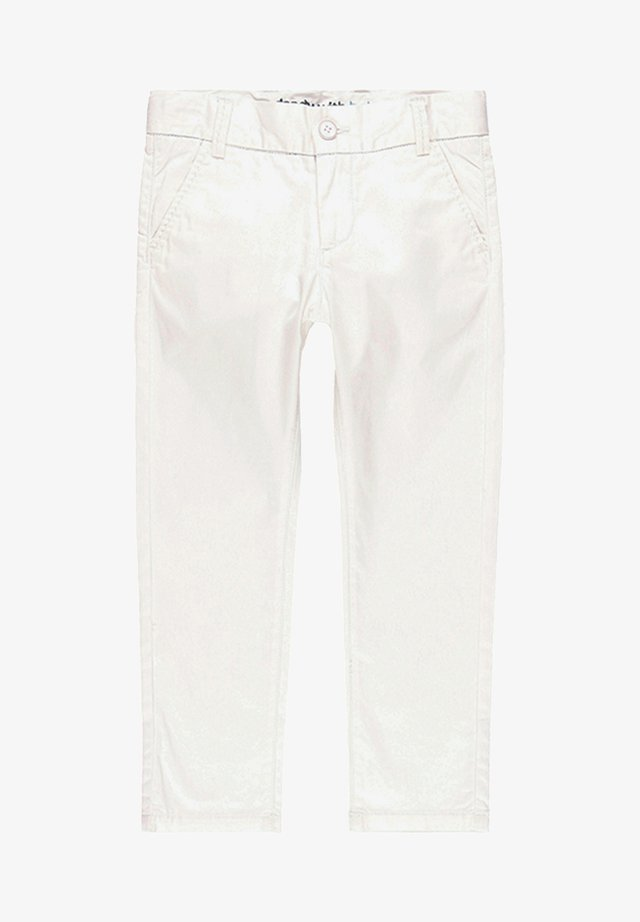 SATIN  - Stoffhose - white
