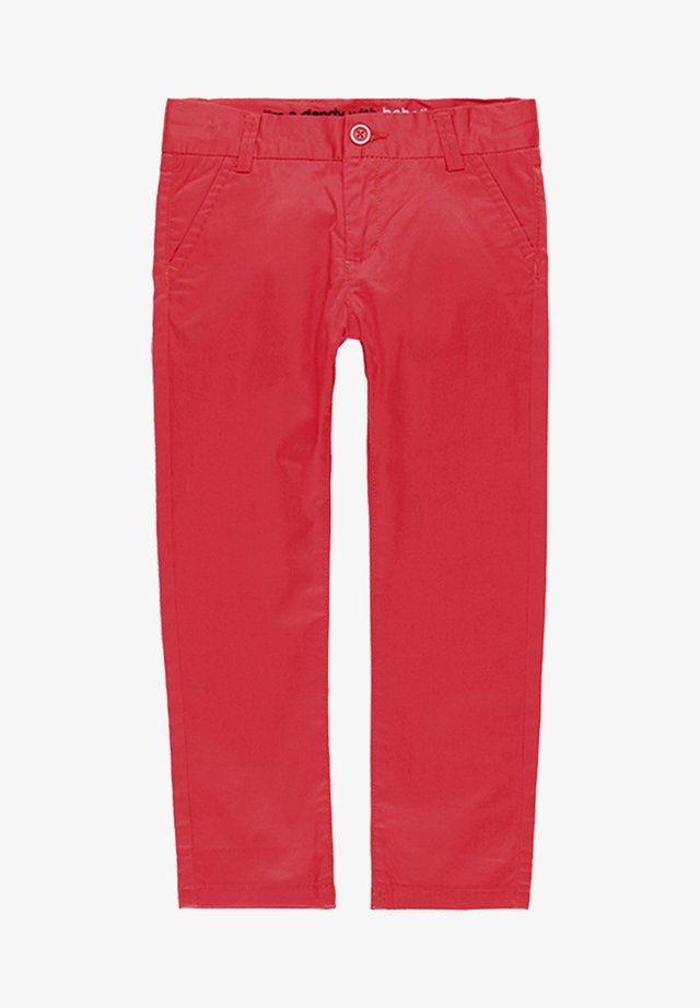 SATIN  - Trousers - red