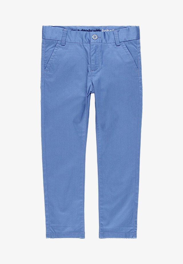 SATIN  - Stoffhose - blue