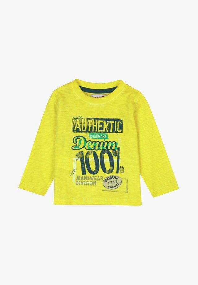 FÜR BABY JUNGE - Langarmshirt - yellow