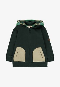 Boboli - Zip-up hoodie - green - 0