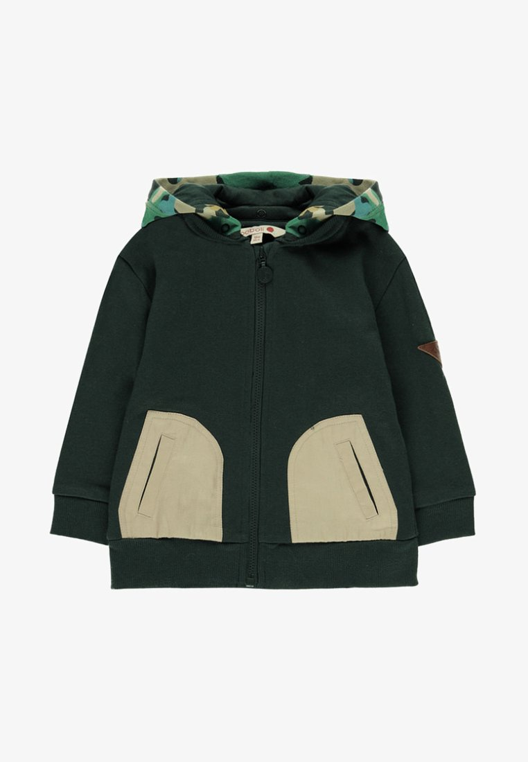 Boboli - Zip-up hoodie - green