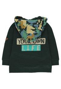 Boboli - Zip-up hoodie - green - 1