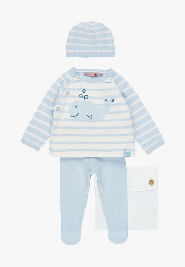 PACK STRICK FÜR BABY - Jumper - sky blue