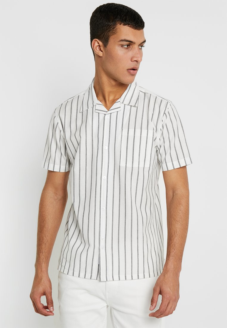 Bellfield - POCKET REVERE STRIPE - Shirt - white