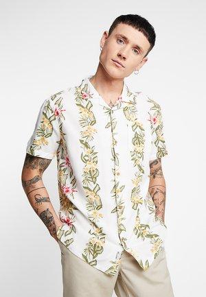 POCKET REVERE PLACEMENT HAWAIIAN FLORAL - Skjorte - white