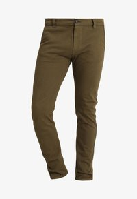 Bellfield - STRETCH CHINOS - Chinot - dark khaki - 4