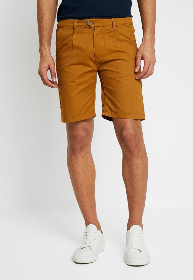 REGULAR - Shorts - tobacco