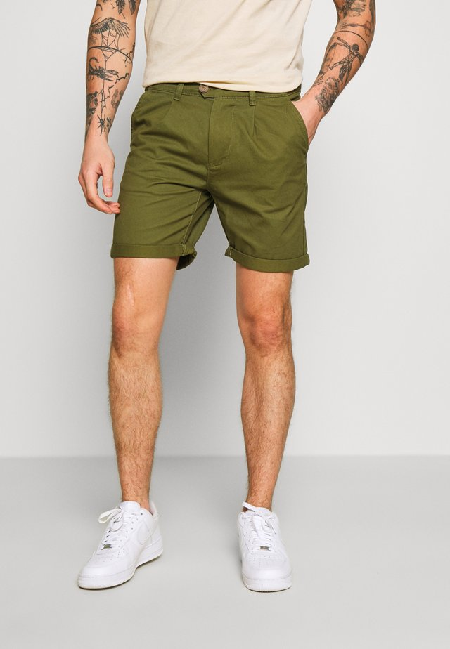 BASIC  - Shorts - khaki