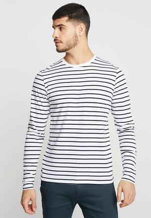 BRETON STRIPE  - Pitkähihainen paita - white