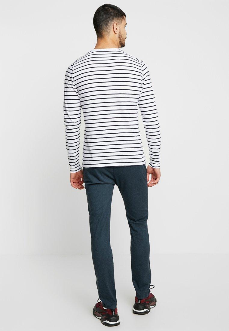 Bellfield BRETON STRIPE  - Bluzka z długim rękawem - white