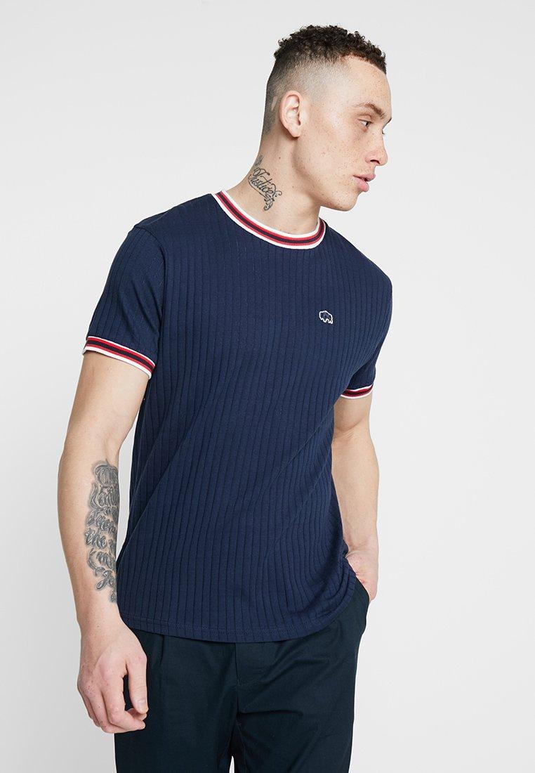 Bellfield - SPORTS RIB RAGLAN - T-Shirt print - navy