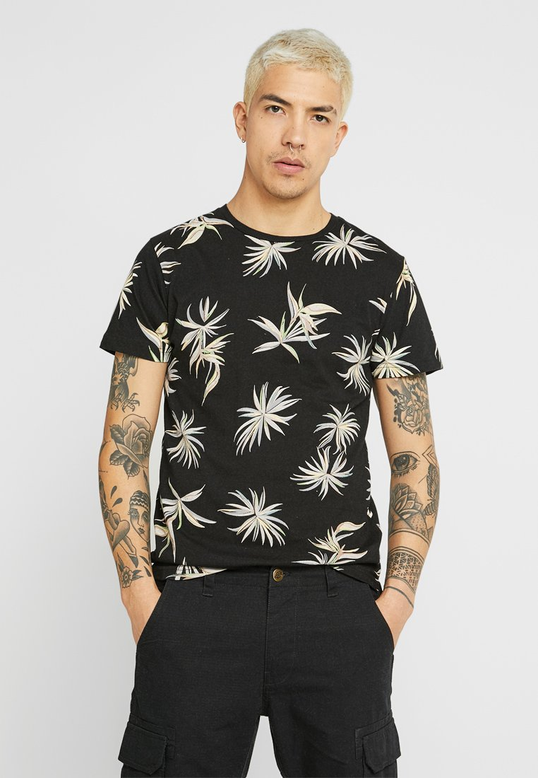 Bellfield - Camiseta estampada - black