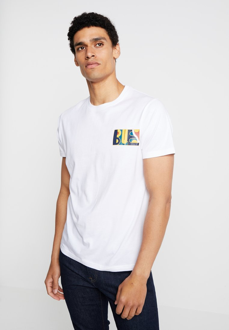Bellfield - COTTON TEE - Print T-shirt - white
