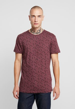 DITSY - Print T-shirt - oxblood