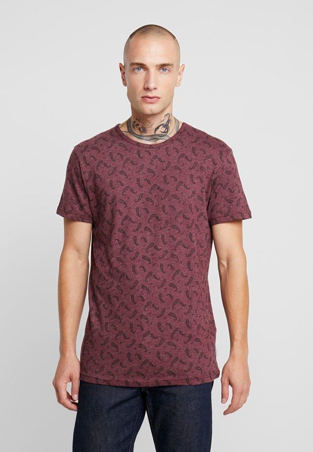 DITSY - T-shirt z nadrukiem - oxblood