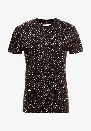 STAR  TSHIRT - Camiseta estampada - black