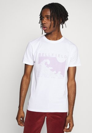 PLACEMENT TEE - Print T-shirt - white