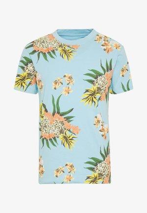 GARLAND TEE - Print T-shirt - pale blue