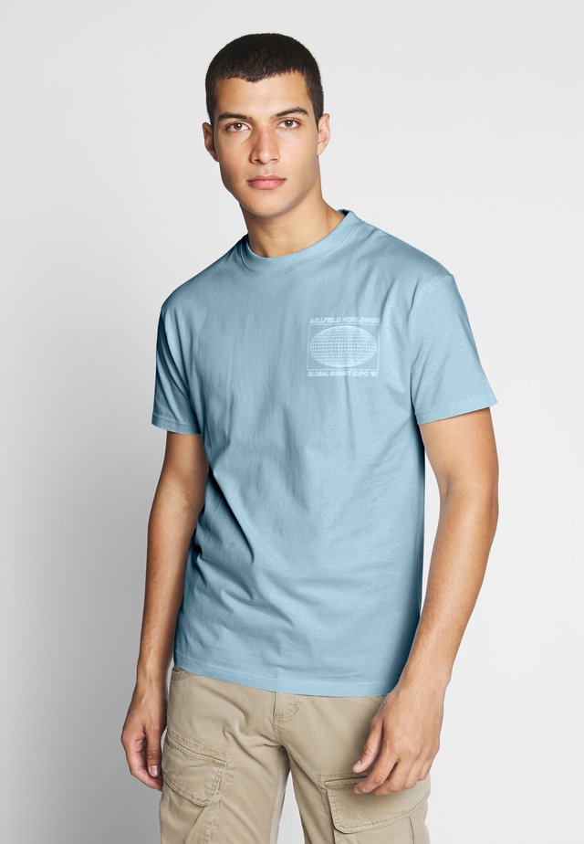 EXPO  - Print T-shirt - pale blue