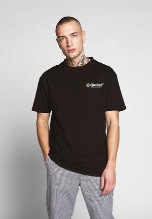 GLOBAL WORKSHOP PRINT TEE - Print T-shirt - black