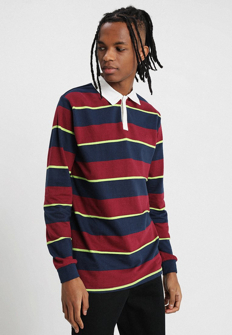 Bellfield - DYED STRIPE RUGBY - Poloshirt - navy