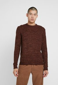 Bellfield - TWISTED CREW NECK - Pullover - ginger - 0