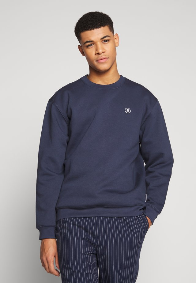 CREW EMBROIDERY BADGE  - Sweatshirt - navy