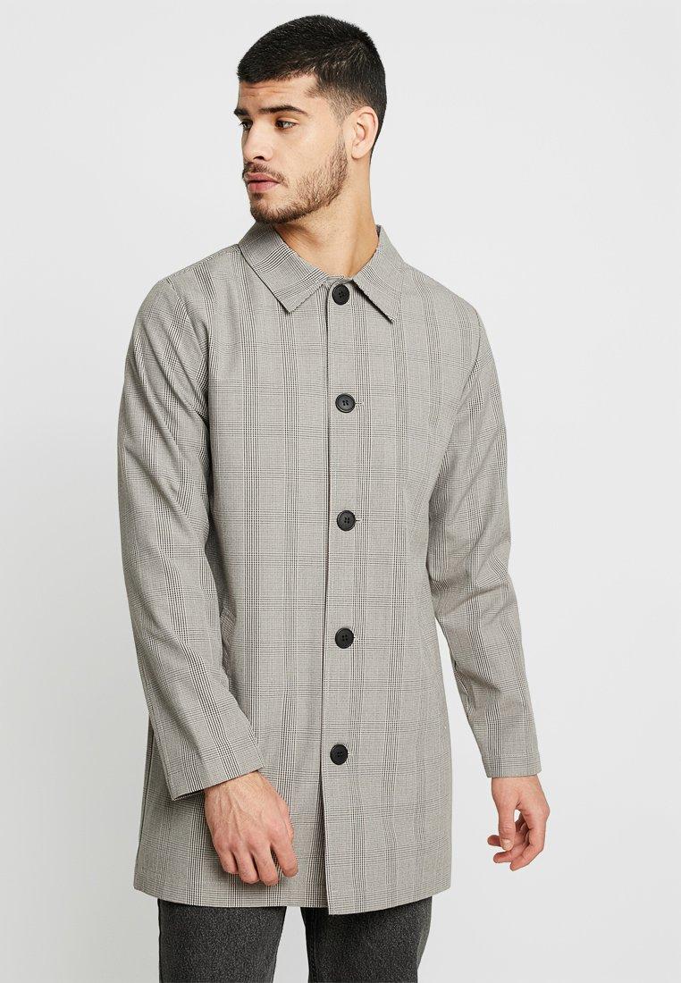 Bellfield - SUMMER CHECK - Classic coat - stone