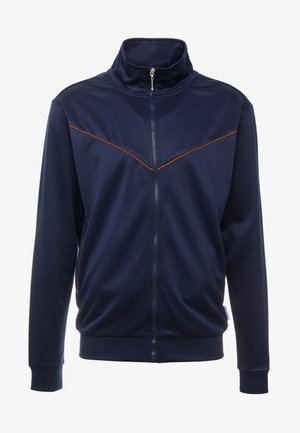 TRACK TOP WITH WESTERN POCKETS - Kurtka sportowa - navy
