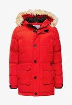 TRIM MOUNTAIN - Zimní kabát - tomato