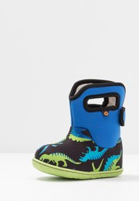 Bogs - BABY CLASSIC DINO - Snowboots  - electric blue/multicolor - 2