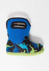 Bogs - BABY CLASSIC DINO - Snowboots  - electric blue/multicolor - 1