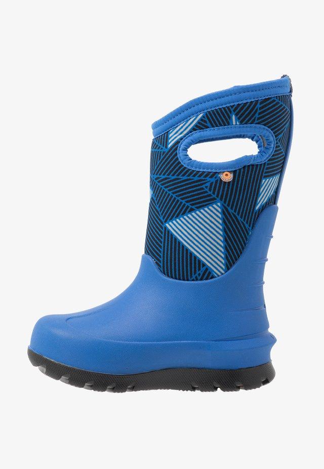 CLASSIC BIG GEO - Vinterstøvler - blue/multicolor