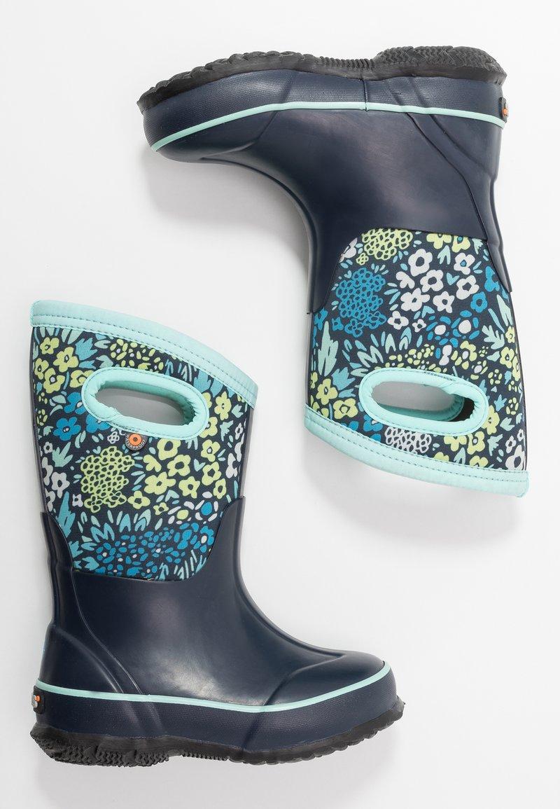 Bogs - CLASSIC BIG GARDEN - Zimní obuv - blue/multicolor