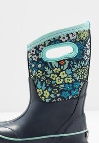 Bogs - CLASSIC BIG GARDEN - Zimní obuv - blue/multicolor - 2