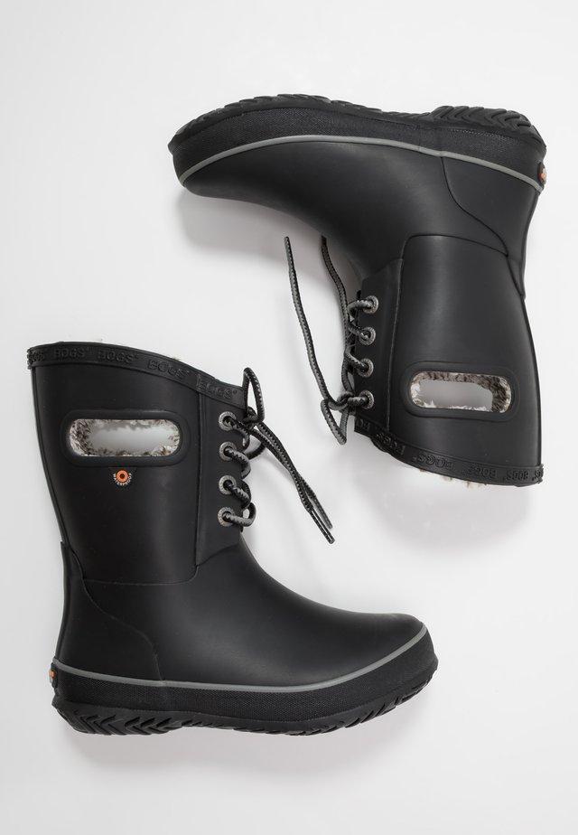 AMANDA PLUSH LACE - Winter boots - black