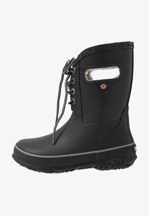 AMANDA PLUSH LACE - Zimní obuv - black