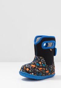 Bogs - BABY CONSTRUCTION - Snowboots  - black/multicolor - 2
