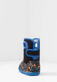 Bogs - BABY CONSTRUCTION - Snowboots  - black/multicolor - 3
