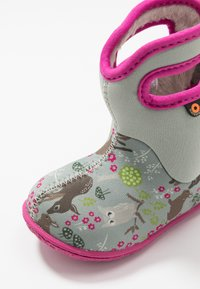 Bogs - BABY WOODLAND FRIENDS - Snowboots  - light gray/multicolor - 2