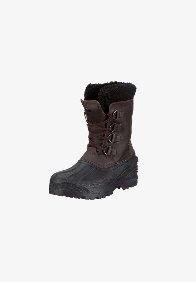 Boots - braunschwarz