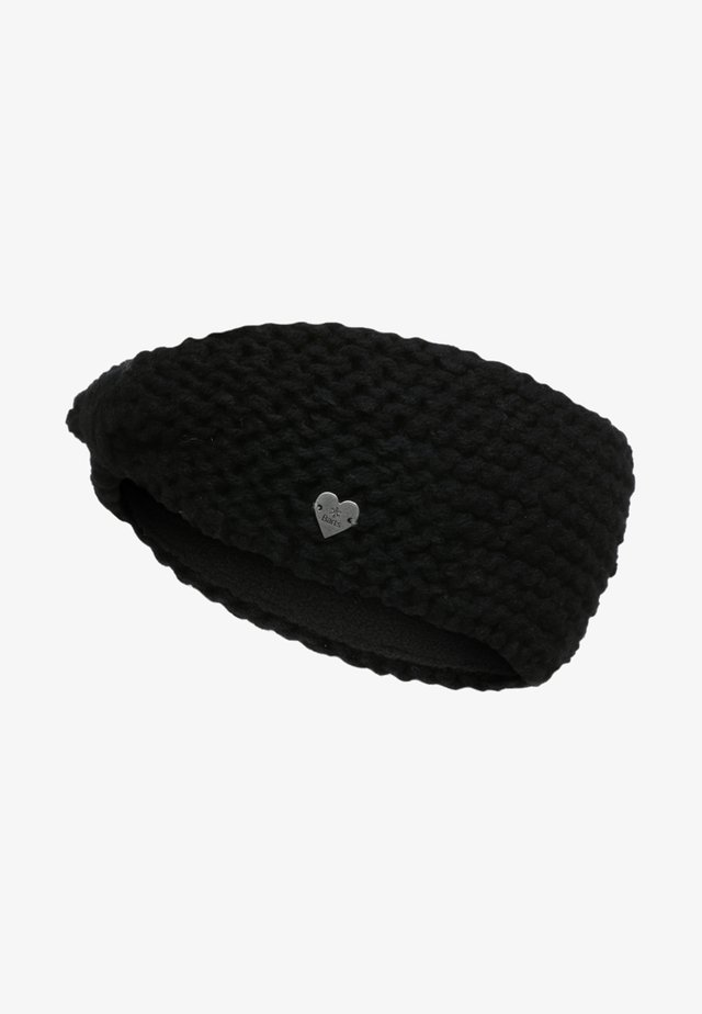 GINGER - Ear warmers - black